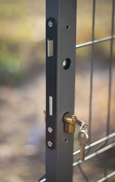 Wkładka zamka furtki panelowej