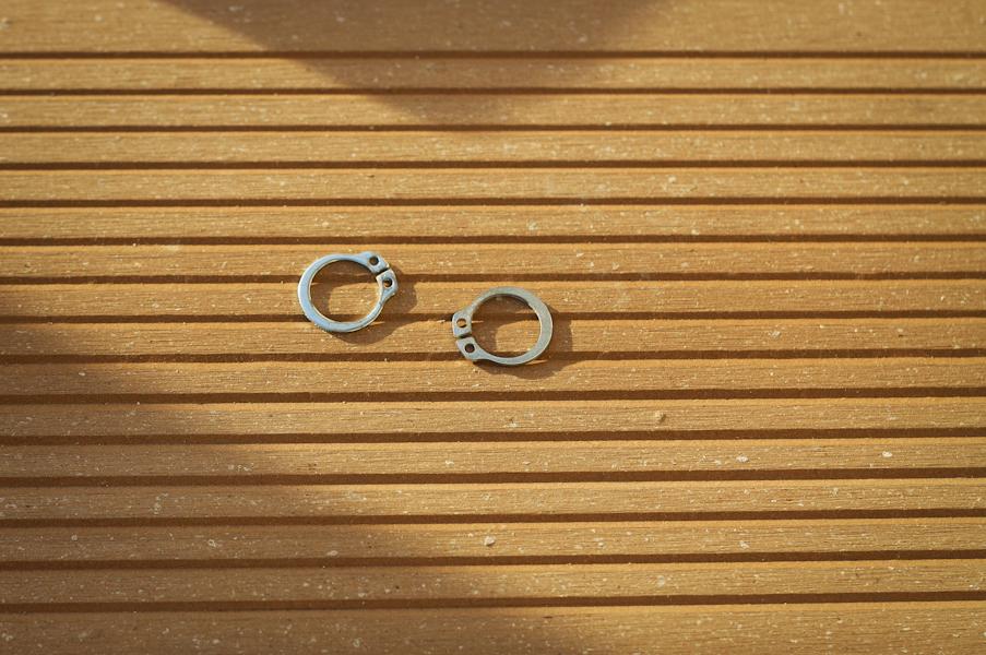 Pierścienie osadcze
