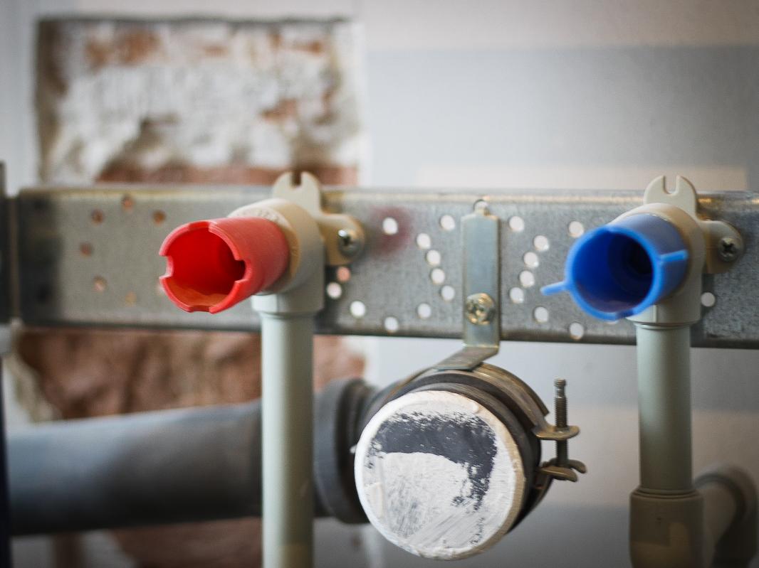 Korek plastikowy do instalacji wody użytkowej