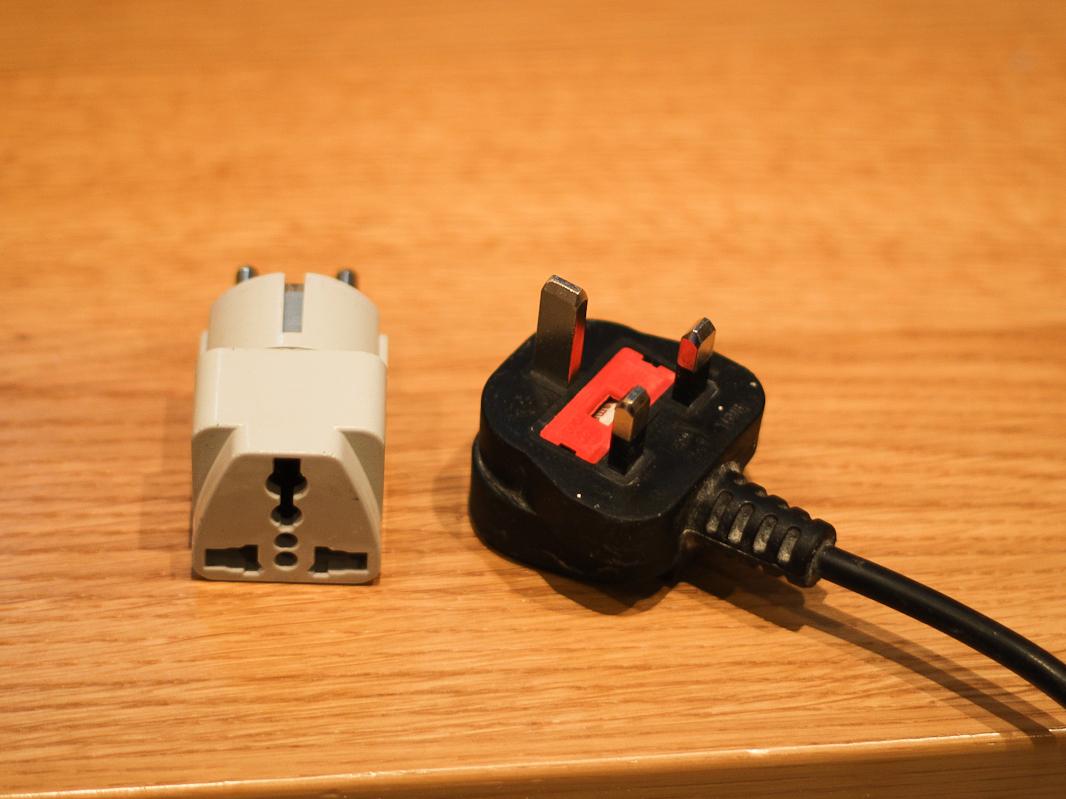 Adapter do wtyczki UK
