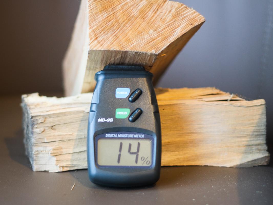 Wilgotność drewna - pomiar