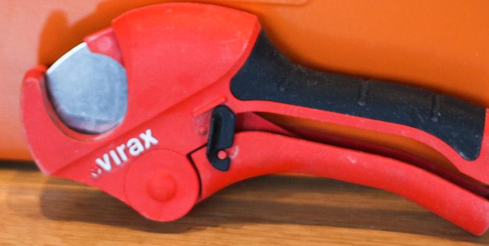 Nożyce Virax do cięcia rur PP