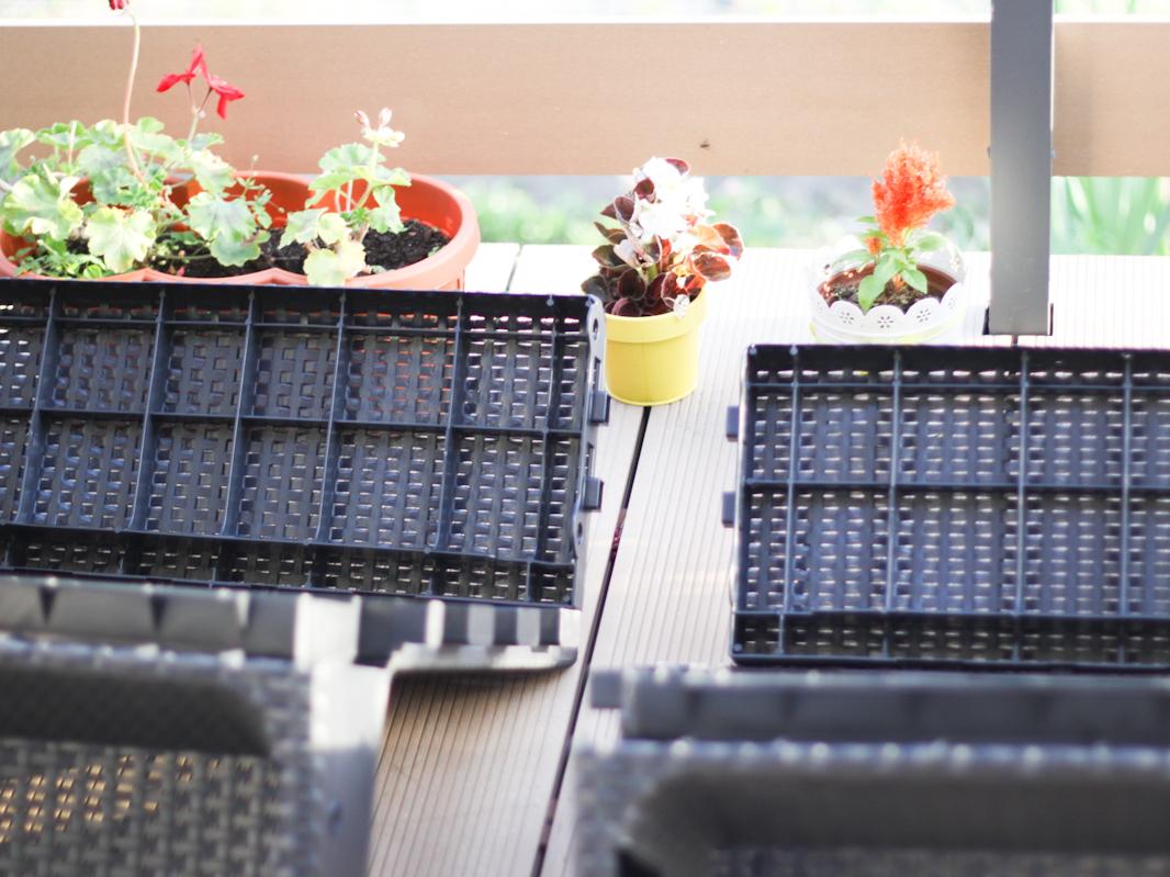Montaż mebli ogrodowych