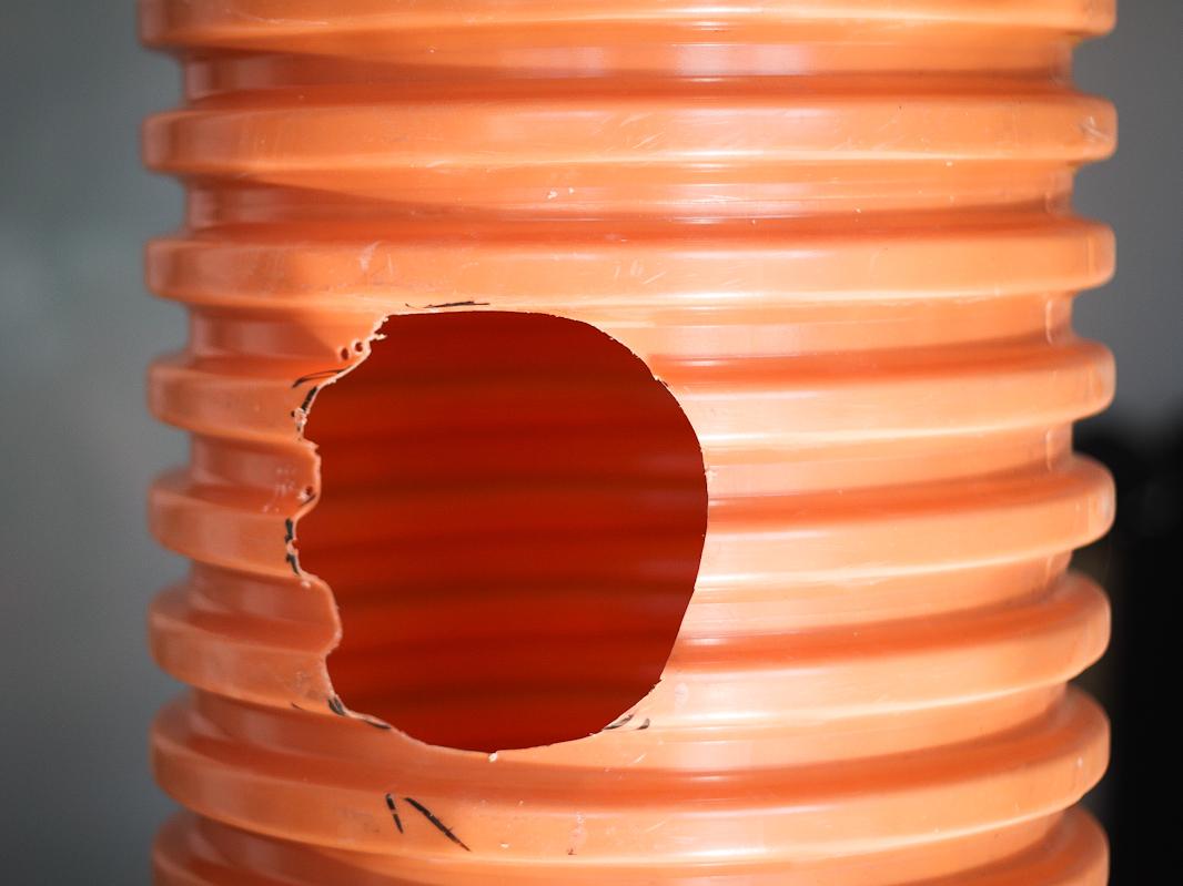 Drenaż liniowy - studzienka z otworem na uszczelkę