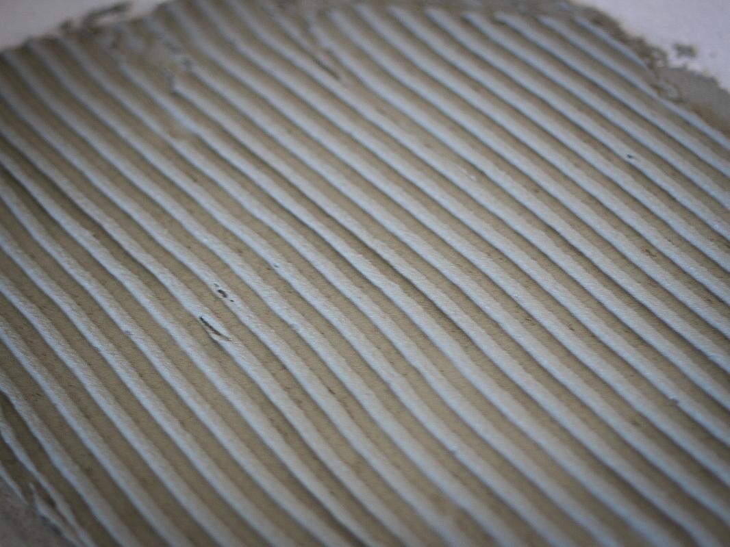 Klej do płytek - warstwa grzebieniowa